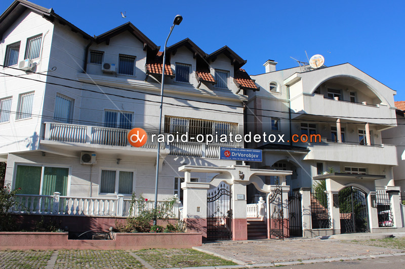 Opiate detox center European clinic Dr Vorobiev